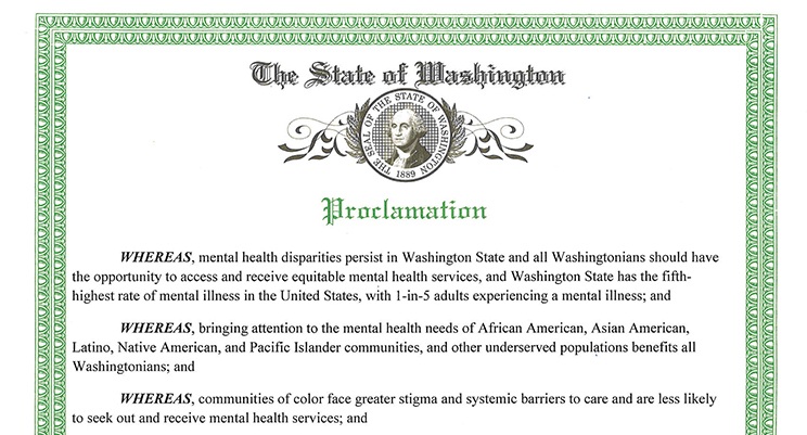 July Is Mental Health Awareness In Communities Of Color Month