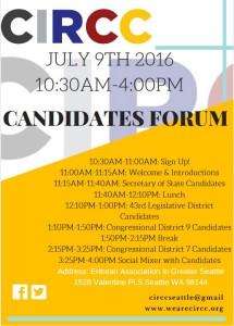 CIRCC Candidate Forum