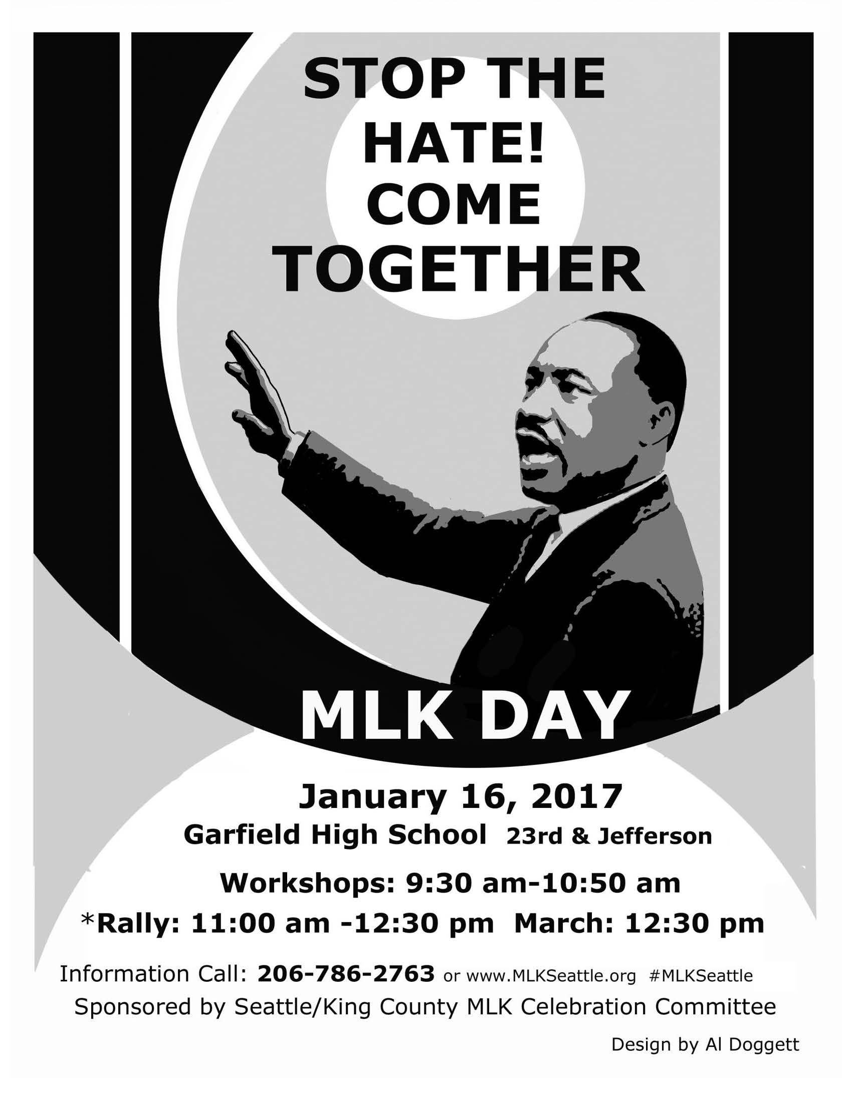 MLK Day Seattle Celebration (1/16)