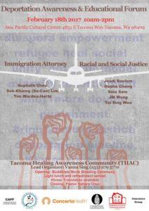 CACCW - Deportation Awareness & Educational Forum