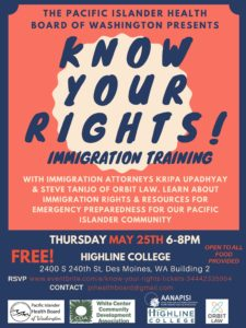 PIHB Know Your Rights Training