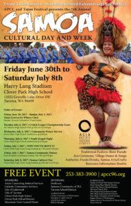 Samoa Cultural Day 2017