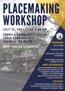 Placemaking Workshop Flyer